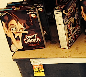 Count Chocula at the local Meijer.