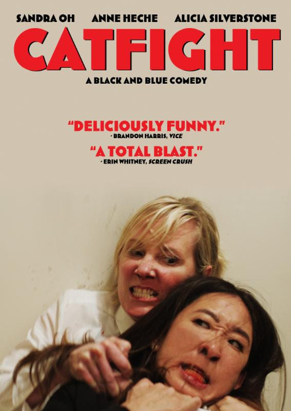 Sandra Oh and Anne Heche in Catfight