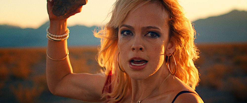 Brittany Allen is Molly in It Stains the Sand Red