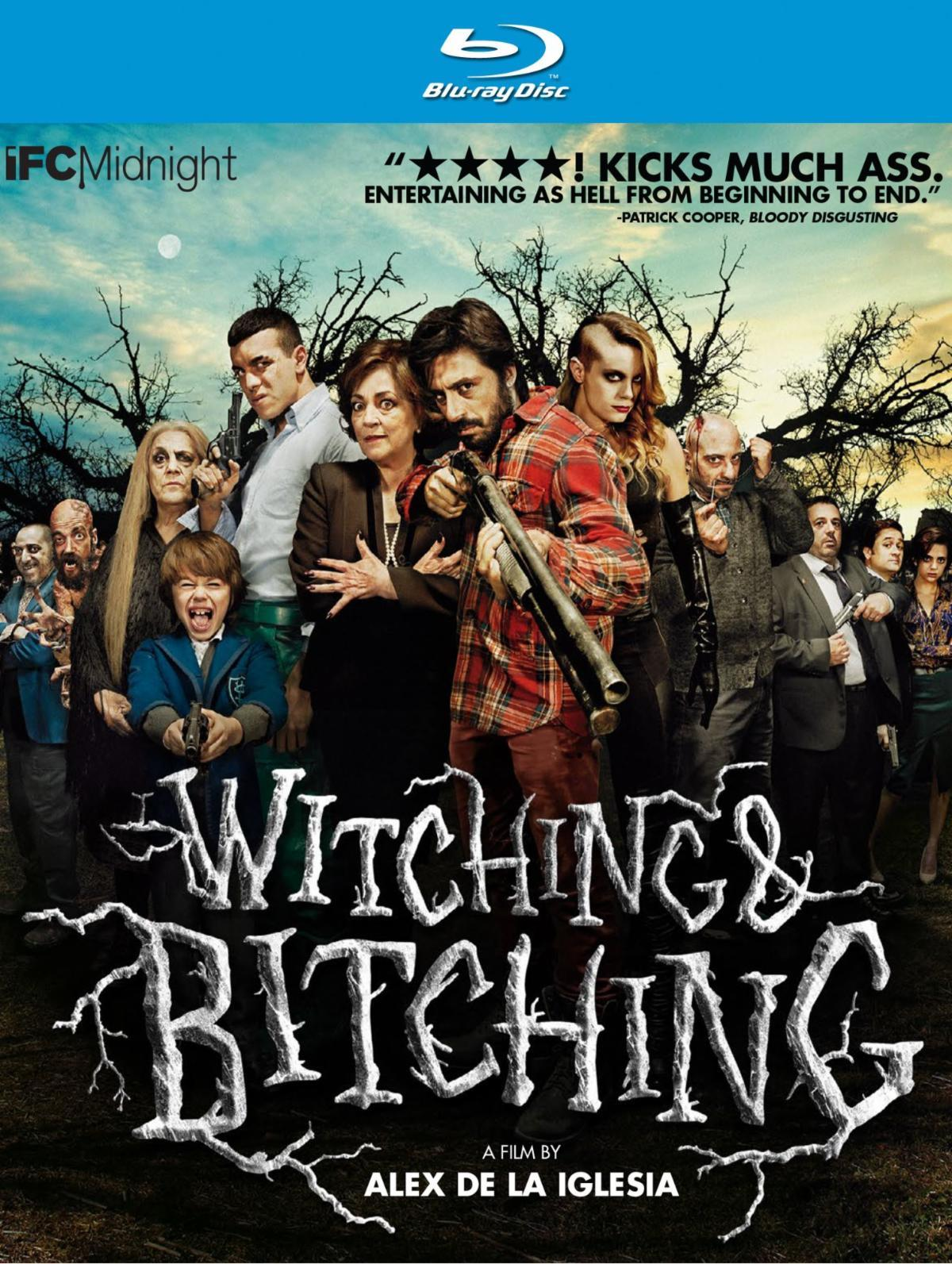 Cover art from the Blu-ray of Witching and Bitching